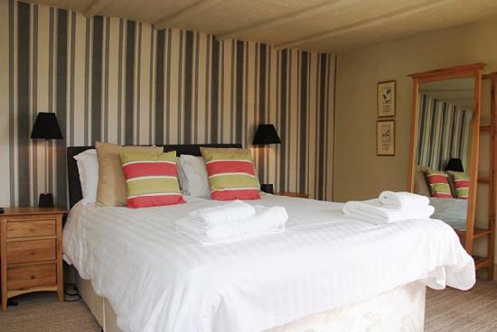 The Royal Oak: One of our specious double rooms