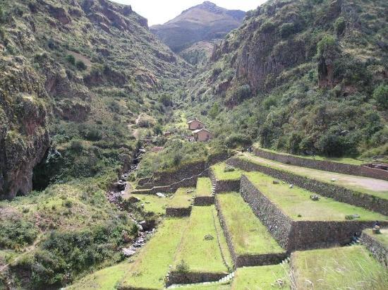 Andenes Terrazas Para Distintos Cultivos изображение храм