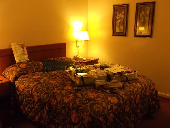 Broadway Inn: queensize bed , frige,and microwave oven