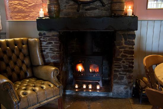 The Royal Oak: Cosy in winter...