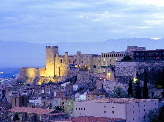 Tortosa, Spanien: Vista exterior del Parador