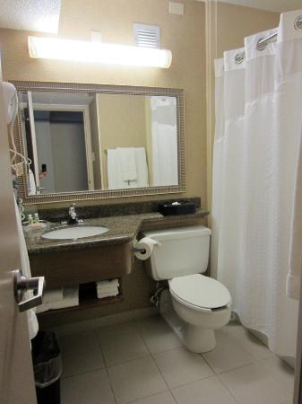 Holiday Inn Johnstown Downtown: Room 602 - Bathroom