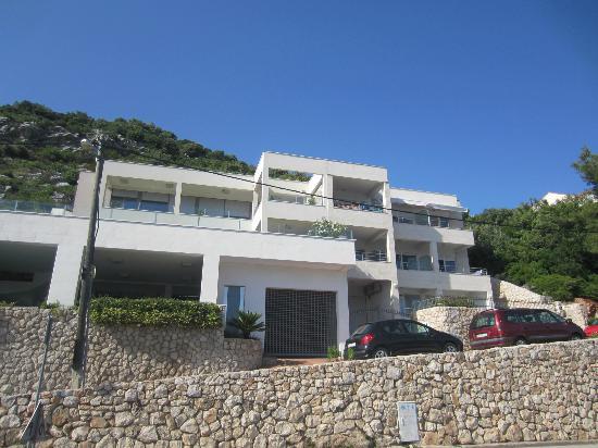 Villa Katarina: Outside