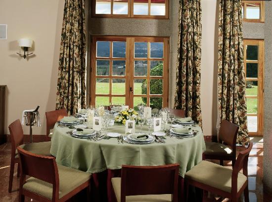 Parador de Tui: Montaje banquete