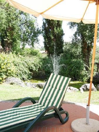 Villa La Nina: fontana