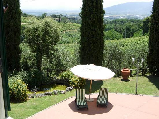 Villa La Nina: vista dalla finestra