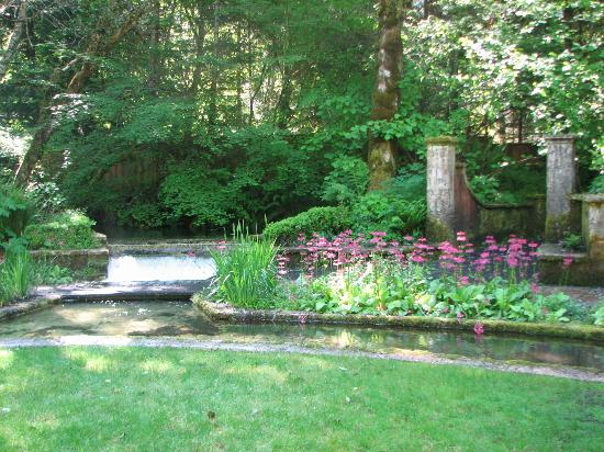 Natural Gardens Picture Of Belknap Hot Springs Lodge And Gardens Mckenzie Bridge Tripadvisor