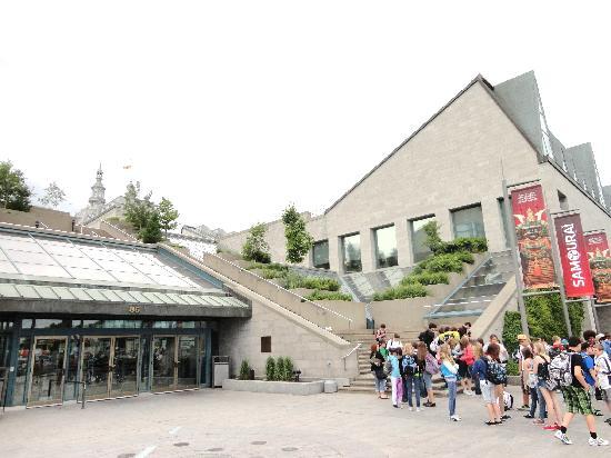 Samoura picture of musee de la civilisation quebec for Quebec city museum of civilization