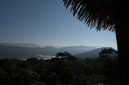 Las Nubes Natural Energy Resort: view on the mountains