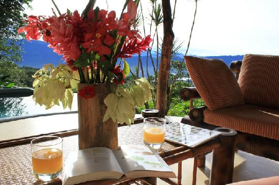 Las Nubes Natural Energy Resort: enjoy the fresh made juices