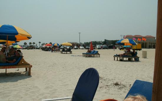 Days Inn Biloxi Beach: 30 miles of wonderful man made beaches
