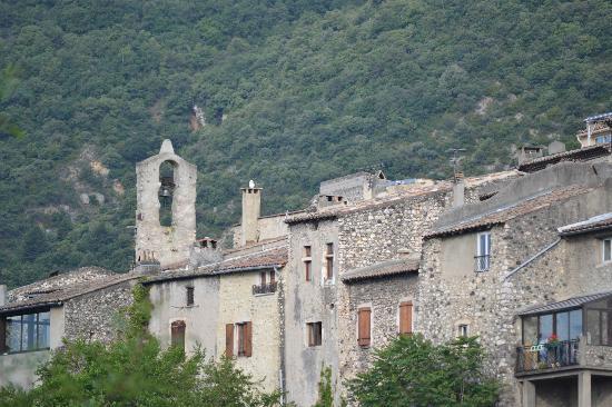 Hotel Medieval: panorama dalla camera