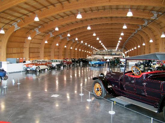 LeMay - America's Car Museum : First of 4 floors. The side ramps are not shown.