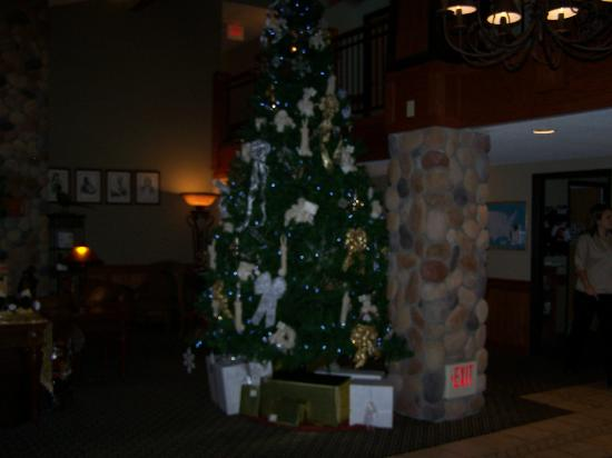 AmericInn Lodge & Suites Wabasha: Seasonal decoration