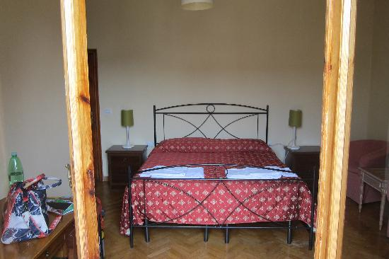Hotel Marine: Bed (view from small balcony)