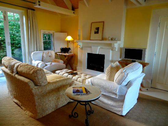 Wharekauhau Country Estate: The beautiful living area