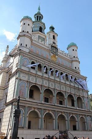 Ratusz Poznanski: Rathaus