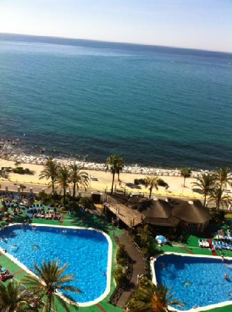 Sunset Beach Club: view from room 1315