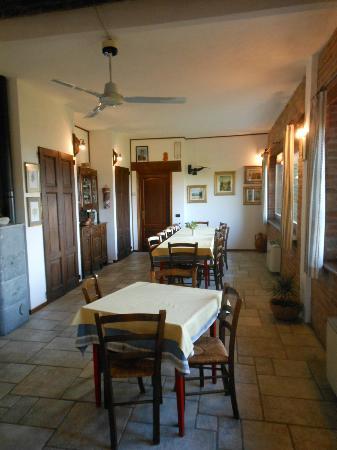 Cissone, Italy: La sala