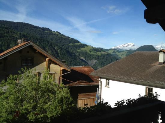 Hitsch-Huus: view from the balcony
