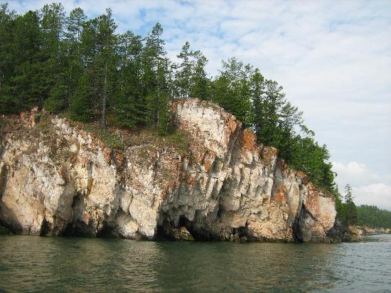 Bajkał, Rosja: Navegando en Baikal