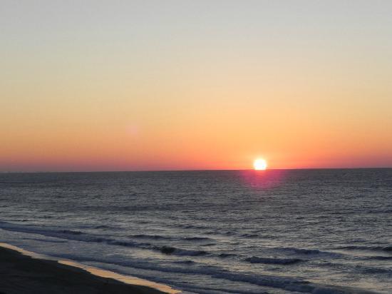 Surfside Beach, SC: Sunrise from the balcony