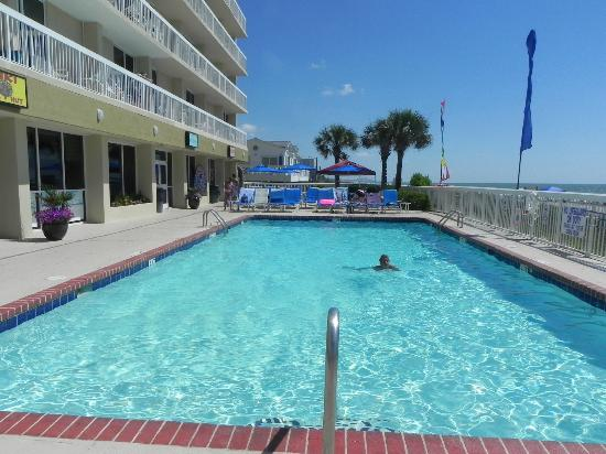 The Pool Picture Of Holiday Inn Oceanfront At Surfside Beach