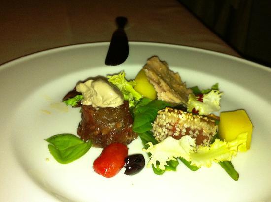 Chalet Ristorante Gourmet Mattias: tris di tonno