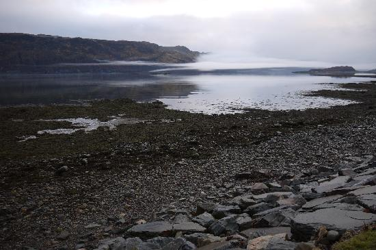 Rockvilla Restaurant: Loch Carron, from the Rockvilla