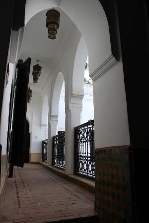 Riad Al Andaluz: Balcon intérieur