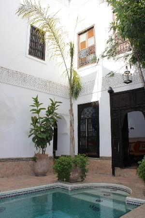 Riad Al Andaluz: Patio
