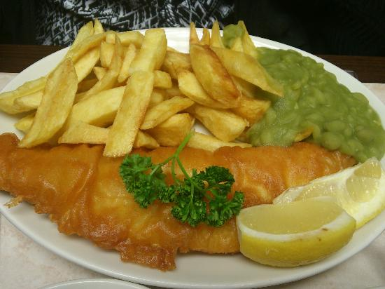 Yorkshire Fisheries: Special of the day Haddock and Chips