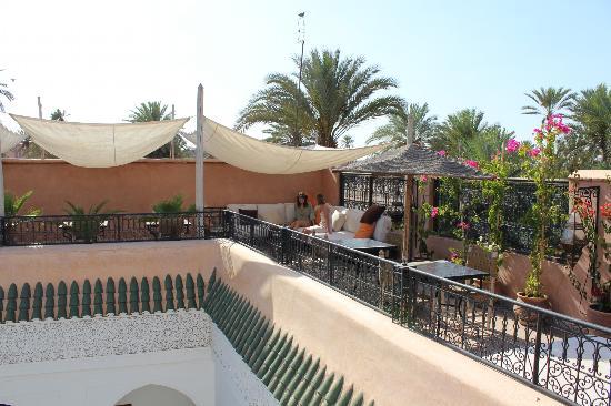 Riad Al Andaluz: Terrasse