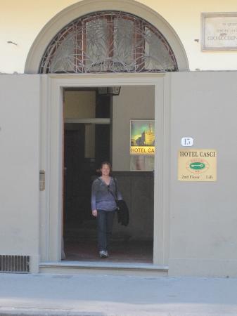 Hotel Casci: hotel entrance