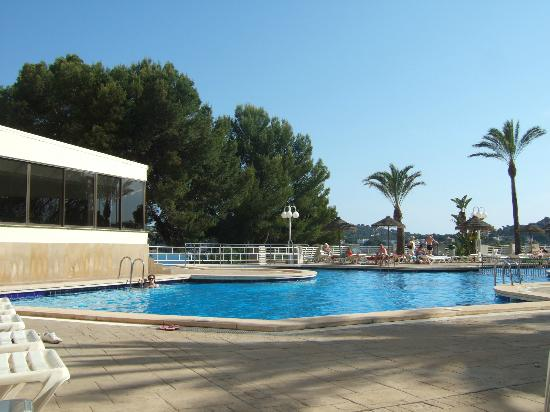View from pool area picture of trh jardin del mar santa for Aparthotel jardin del mar mallorca