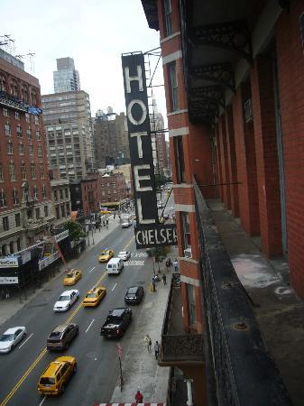 Chelsea Hotel: Gatvy