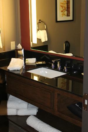 Best Western Premier Ivy Inn & Suites: Very nice spa feel bathroom