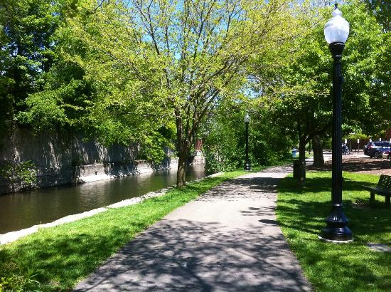 Jamestown, NY: River walk, so nice!