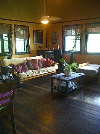 Villa Pelicano: living room