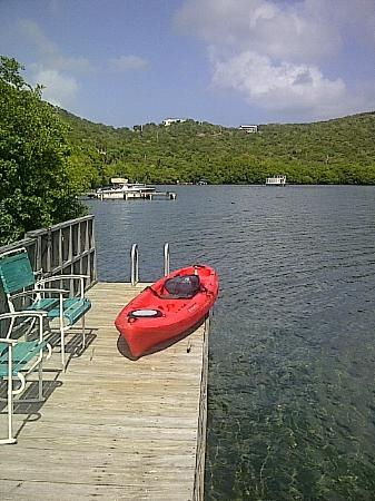 Villa Pelicano: kayaking equipment is available