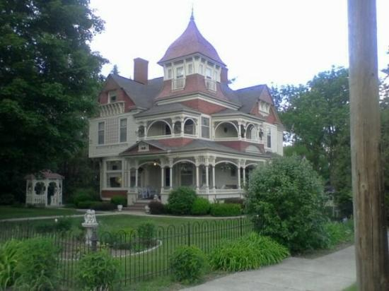 The Grand Victorian B&B: There's a lot of detail to take note of.