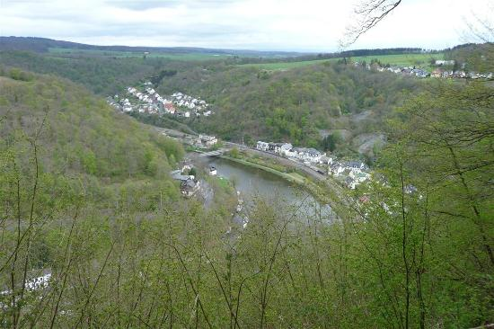 Gasthaus Hergenhahn: Blick auf Balduinstein