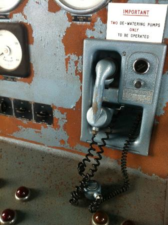 Titanic's Dock and Pump-House: Communications in the pump house