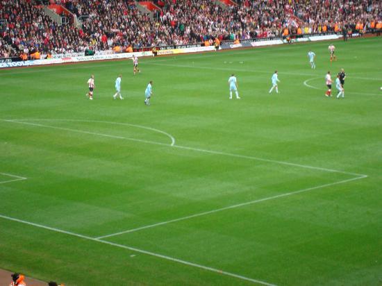 St Mary's Stadium: Last game of the 2011 - 2012 season