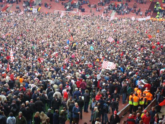 St Mary's Stadium: Promotion Party