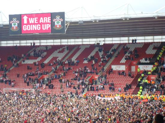 St Mary's Stadium: Promotion Party 2