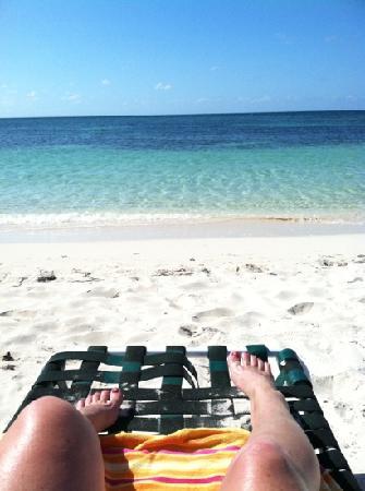 Spanish Cay Private Island Resort: private beach