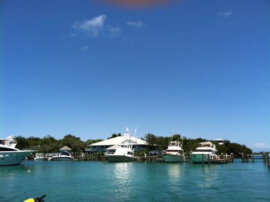 Spanish Cay Private Island Resort: Marina