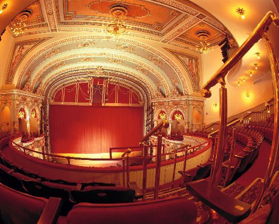 Beautiful interior of the Fulton Theatre