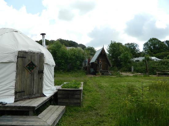 Mountain Cottage Yurts : Our lovely Yurt